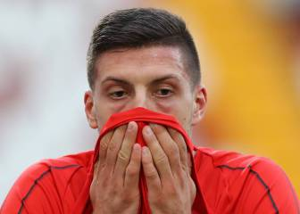 False alarm as Luka Jovic is not injured