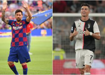 Who joins Messi and Ronaldo in the FIFA 20's top 10 players list?
