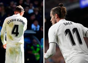 Sergio Ramos jumps to Gareth Bale's defence
