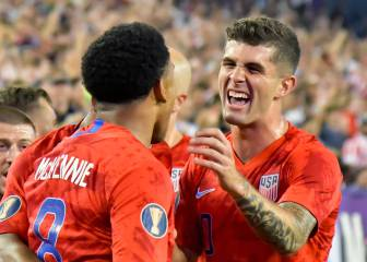 Why did the USA let Pulisic and company leave the camp early?