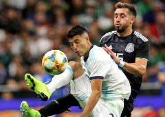 Argentina ends Mexico's unbeaten run