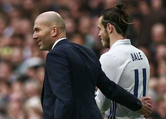 Zidane brushes off Gareth Bale's