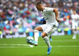 Eden Hazard makes his debut for Real Madrid