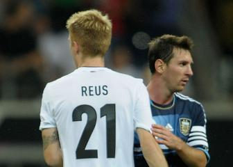 Messi challenge is what Dortmund want – Reus