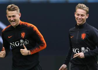 De Jong and De Ligt exits not making Ajax sad, says Tadic