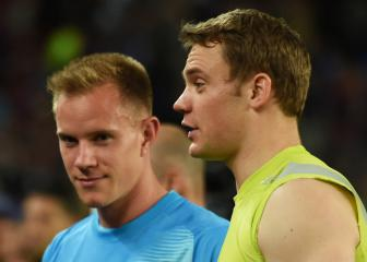 Neuer wants to put an end to tiff with Ter Stegen
