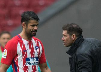 Simeone keeps faith with misfiring Atletico Madrid striker Costa