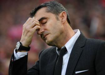 Barcelona players losing confidence in Valverde