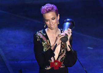 Rapinoe gives powerful speech at The Best ceremony