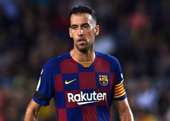 Busquets accepts he is no longer a guaranteed starter