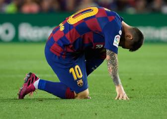 Barcelona confirm extent of Messi injury