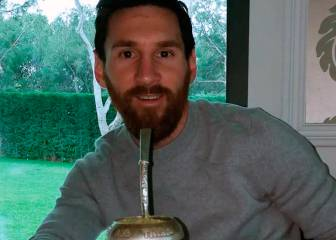 Drink mate like Messi
