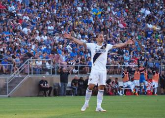 Zlatan Ibrahimovic, the MLS' highest-earning player