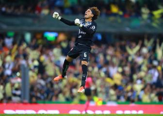 Memo Ochoa's first victory with America is against Chivas