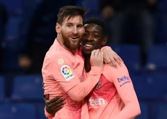 Messi and Dembélé in Barcelona squad to face Inter