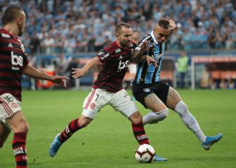 Gremio snatch late draw but are outclassed by Flamengo