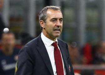 Quitting not an option for AC Milan boss Giampaolo