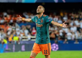Ajax remove Madrid-target Hakim Ziyech release clause