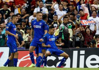 Cruz Azul score five against América for first time