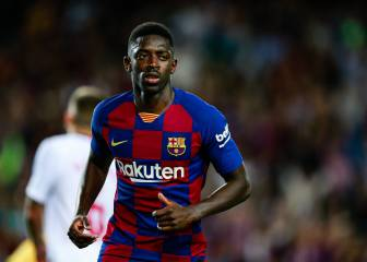 Dembélé and Araújo see red for Barcelona