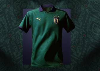 Italy launch new green 'Renaissance' kit
