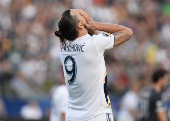 Zlatan and LA Galaxy's night ruined by Alberth Elis