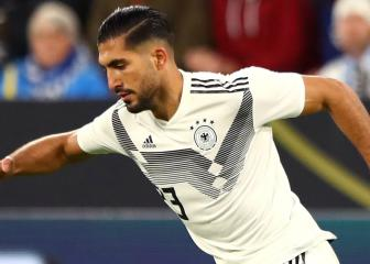 Emre Can says he is not happy at Juventus