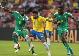 Neymar's 100th Brazil cap ends in 1-1 draw with Senegal