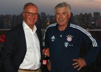 Ancelotti's response when sacked had Rummenigge in tears