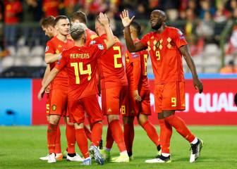 Belgium first to qualify for Euro 2020 with 9-0 San Marino stroll