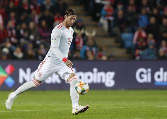 Sergio Ramos becomes most-capped player in Spain's history