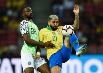 Brazil and Nigeria draw 1-1 as Neymar limps off injured