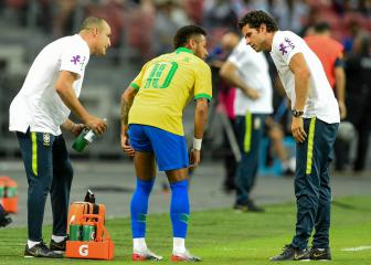 PSG issue update on Brazil star Neymar's hamstring injury
