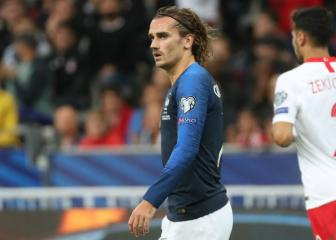 Griezmann 'a little sad' after Euro 2020 place put on ice