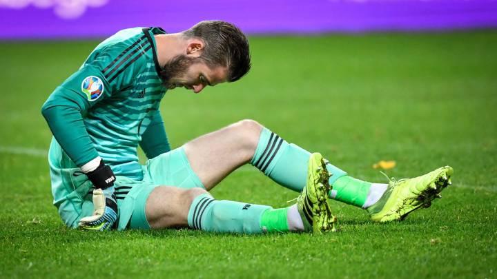 De Gea's adductor injury confirmed by Spain coach - AS.com
