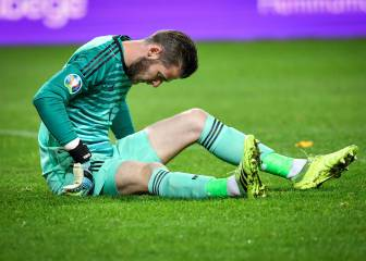 De Gea's adductor injury confirmed by Spain coach