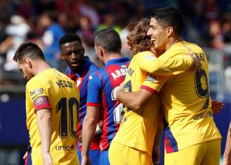 Barcelona go top after autumnal stroll against Eibar