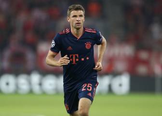 Man United eye Bayern's Muller for January - reports