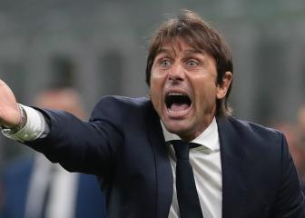 Conte 'worried' about Inter's growing injury list