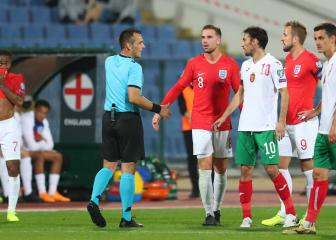 Bulgaria handed stadium ban and fined for racist chants during England game