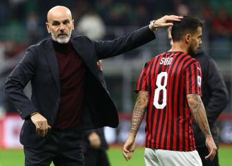 Milan boss Pioli wants more from match-winner Suso