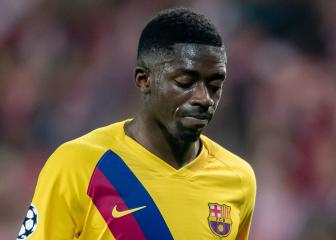 Dembélé left out of Barcelona squad for trip to Levante