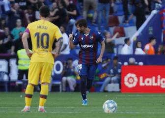 Barcelona collapse in second half against lively Levante
