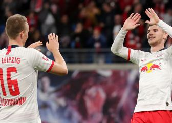 Timo Werner stars as Leipzig take Mainz to the cleaners