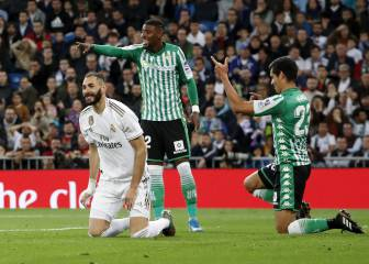 Real Madrid fail to find a way around Betis in the Bernabéu