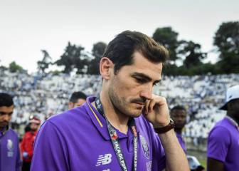 Iker Casillas returns to training