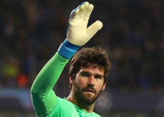 Liverpool goalkeeper Alisson annoyed at lack of clean sheets