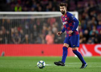 Gerard Piqué fifth on Barça Champions League list