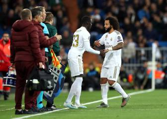 Marcelo injured during Real Madrid-Galatasaray clash