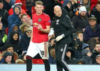 McTominay injury, a big concern for United boss Solskjaer